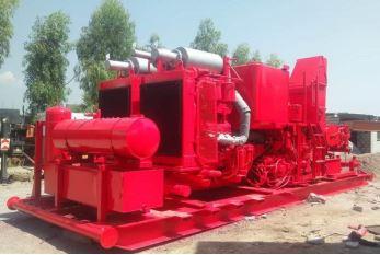 Twin Pump Unit Skid-HT400